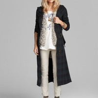 Free People Coat - Raw Textured Long | Bloomingdales's