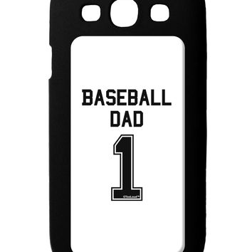 Baseball Dad Jersey Galaxy S3 Case  by TooLoud