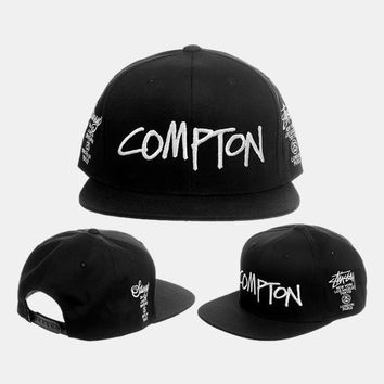 cc kuyou Stussy X Compton World Tour Hat