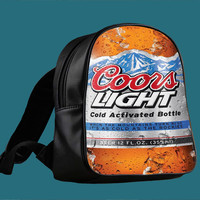 Fresh Coors Light for Backpack / Custom Bag / School Bag / Children Bag / Custom School Bag *