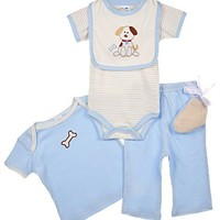 Hudson Baby Gift Collection, 6 Piece, 0-3 Months