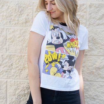 Cartoon Mickey Tee