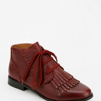Shellys London Pavil Lace-Up Cut-Off Ankle Boot