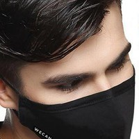 Cotton Mouth Mask Anti-Dust Cloth Mask Respirator with 6 Filter Cloth