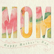 Watercolor Mother's Day Handmade Card