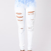 Moonstone Jeans - Light Blue