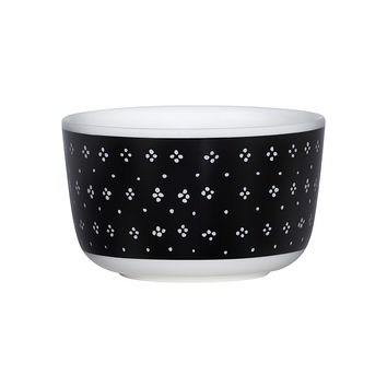 MUIJA BOWL BLACK/WHITE 2.5 DL