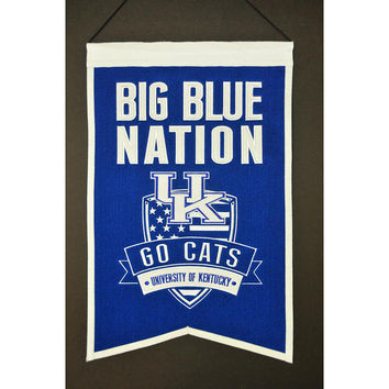 Kentucky Wildcats NCAA Nations Banner (15x20)