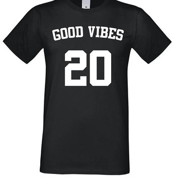 Good Vibes Shirt, Funny Tee Only Good Vibes Tshirt, Tumblr T-shirt, Gift, Best Friends Gifts, Clothing Gifts, Instagram Clothing