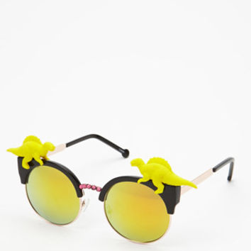 Rad And Refined Dino Browline Sunglasses