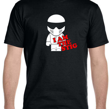 I Am The Stig, Top Gear Automotive TV Show - T-Shirt