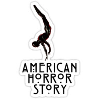 American Horror Story - Rubberman [LOGO RED] minimalist design