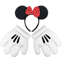 Minnie Mouse - Ears and Glove Set