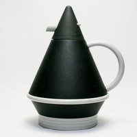 Post Modern Crown Corning Thermique Thermal Carafe K. Shigeto Design of Milano Memphis Sottsass Era 1980s Design Thermos