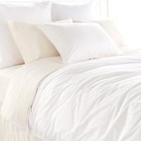 Petite Ruffle White Bedding design by Pine Cone Hill