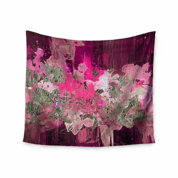 Kess InHouse EBI Emporium The Perfect Storm Red Pink Painting Wall Tapestry