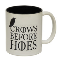 123t USA Crows Before Hoes Funny Mug
