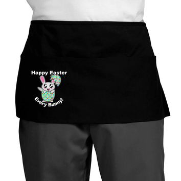 Happy Easter Every Bunny Dark Adult Mini Waist Apron by TooLoud