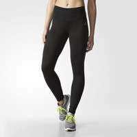 adidas Performer Mid-Rise Long Tights - Black | adidas US