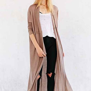Silence + Noise Layer-It-On Duster Cardigan Sweater-