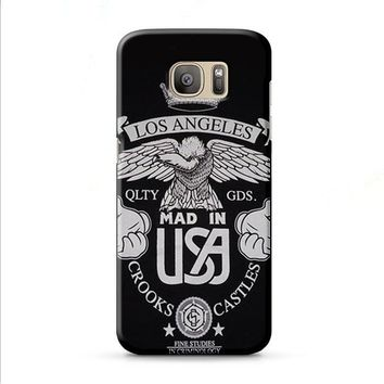 LOS ANGELES CROOKS AND CASTLES Samsung Galaxy J7 2015 | J7 2016 | J7 2017 case