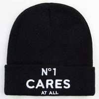 Reason No 1 Cares Beanie Black One Size For Men 23455510001