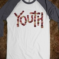 FLORAL YOUTH BASEBALL TEE