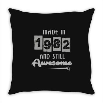 made in 1982 and still awesome Throw Pillow