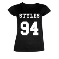Kids Teens Harry Styles 94 One Direction T Shirt