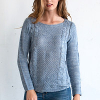Meredith Knit (blue)
