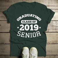 Men's Graduating Class 2019 Senior T Shirt Graduation Gift Idea Graduate Shirt