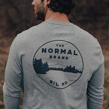 Landscape Long Sleeve T-Shirt by The Normal Brand