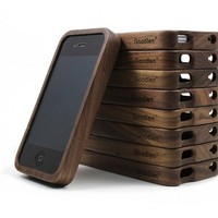 Vintage Walnut Wood Case for iPhone4/4s