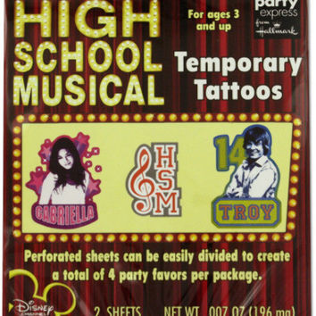 high school musical tattoos Case of 24
