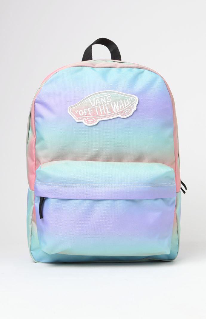 8df2b0ac7ff496 Vans Realm Tie-Dye School Backpack - from PacSun