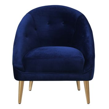 Hudson Accent Chair NAVY BLUE