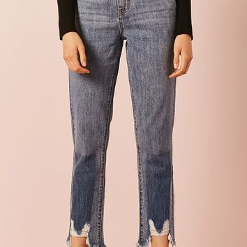 Sharkbite High-Rise Jeans