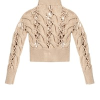Chunky cable-knit sweater | MM6 by Maison Margiela | MATCHESFASHION.COM UK