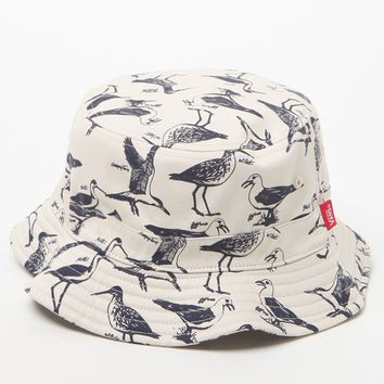 Vans Undertone Bird Bucket Hat - Mens Backpack - Eggshell
