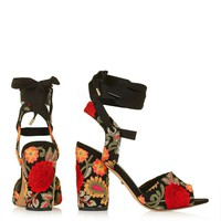 ROYAL Embroidered Sandals - Shoes