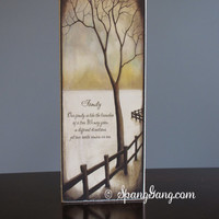 Wood Family Tree Home Decor. Great gift for Mom, Christmas, House Warming. Shelf sitter.