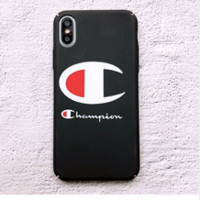 The New Champion Cover Iphone X  8 8PLUS 7 7 Plus 6 6S 6 Plus 6S Plus Cover Case