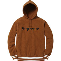 Supreme: Reverse Fleece Hooded Sweatshirt - Copper