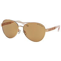 Michael Kors Cagliari Aviator Sunglasses