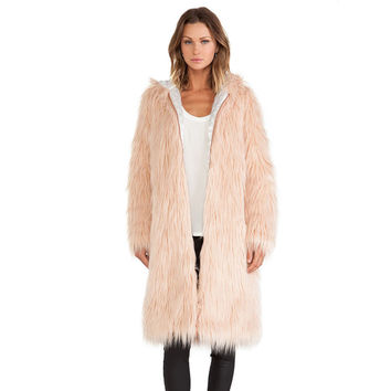 Winter Hats Zippers Bags Pink Fur Coat [6407761860]