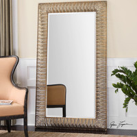 Aldric Oversized Gold Mirror
