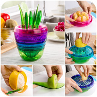 10PCS Fruit cutting tool set 2015New Fruit food machine High quality creative kitchen utensils and appliances