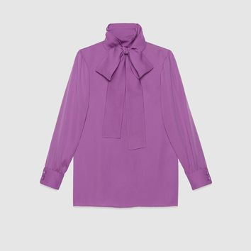 Gucci Silk satin shirt