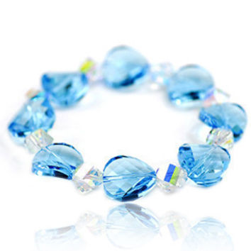 Blue Mood Bracelet Austrian Imported Crystal Jewelry for Girls