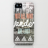 Wander iPhone Case by Wesley Bird | Society6